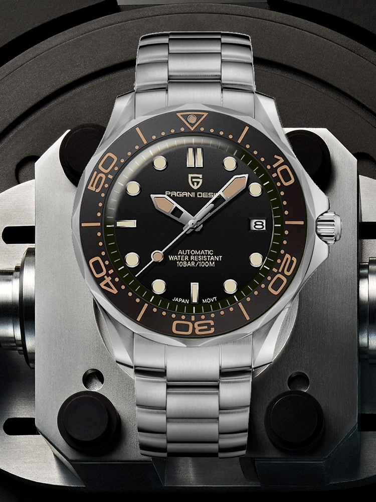 Mechanical Watches Nh35-Clock Pagani-Design Waterproof Men's Man Brand Luxury Japan 007