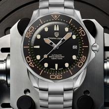 Mechanical Watches Nh35-Clock Pagani-Design 007 Waterproof Men's Brand Luxury Japan Man