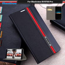 Luxury PU Leather Case For Blackview BV9700 Pro Flip Case For Blackview BV9700 Pro Phone Case Soft TPU Silicone Back Cover