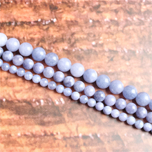 Purple Sapphire Natural Stone Beads Loose Stone Beads For Jewelry Making DIY Bracelets Necklace Accessories 4/ 6/8/10mm