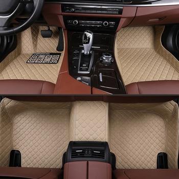 Car Floor Mats For Honda CRV 2017 2018 2019 Waterproof Car Accessories Leather Foot Mats