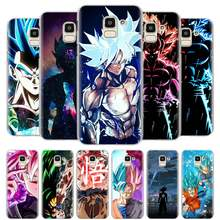 dragon ball z Ultra Instinct Vegeta Case Cover for Samsung Galaxy J4 J6 Plus J8 2018 J4+ J6+ M10 M20 M30 M40 Hard Cases(China)