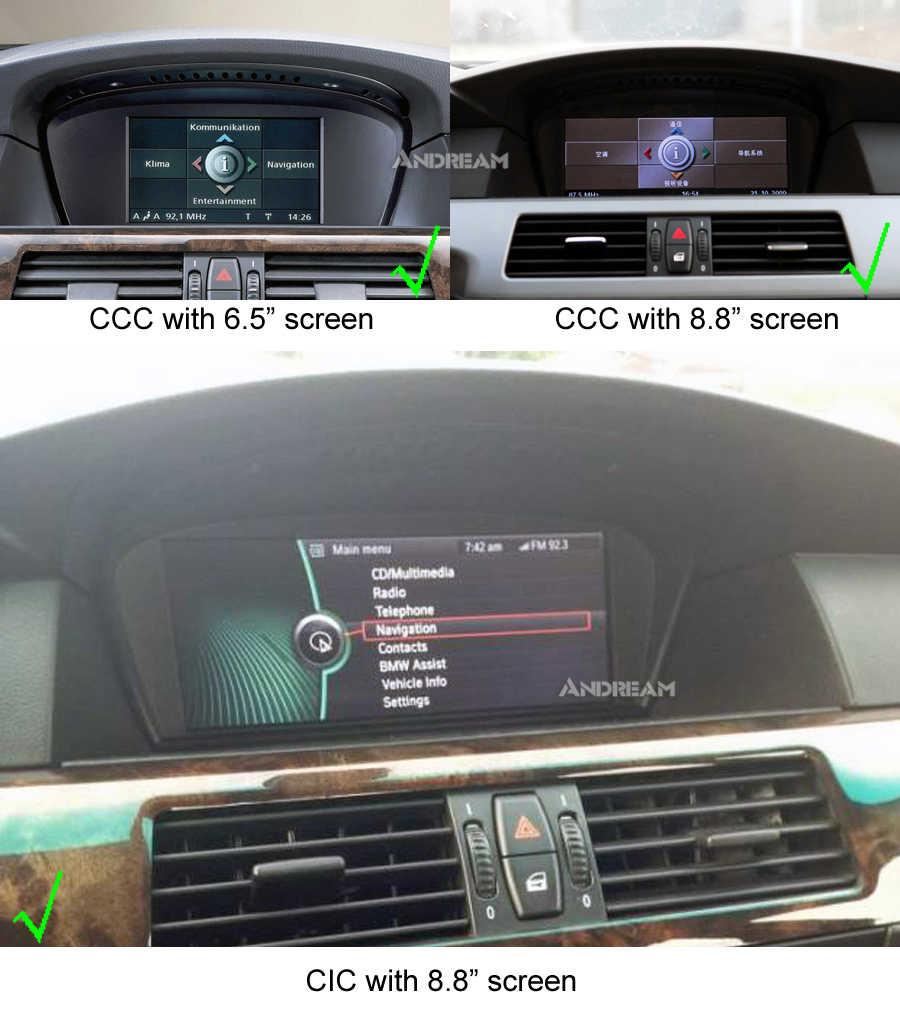 """Andraam 8,8 """"Android 9,0 4G ram Автомобильный мультимедийный плеер авторадио для BMW серии 5 3 E60 E61 E62 E63 E90 E91 E92 gps навигация"""
