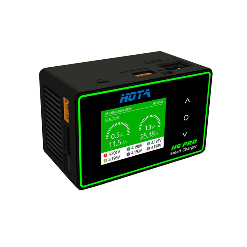 HOTA H6 Pro DUO AC 200W DC 700W 26A Battery Balance Charger for 1-6S Lipo Battery Model Spare Parts DIY Accessories