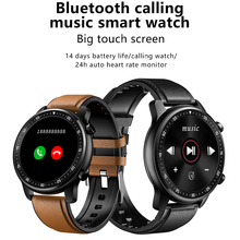 Smart Watch Bluetooth Call Play Music Fitness Bracelet Heart Rate Monitor Men Smartwatch Multi-Sport Modes Pedometer Calories