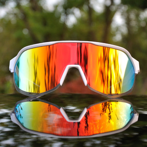 Image 2 - Brand Outdoor Sports Cycling Glasses S2 S3 Men Cycling Goggles Mountain Bike Cycling Eyewear UV400 Peter Riding Sunglasses