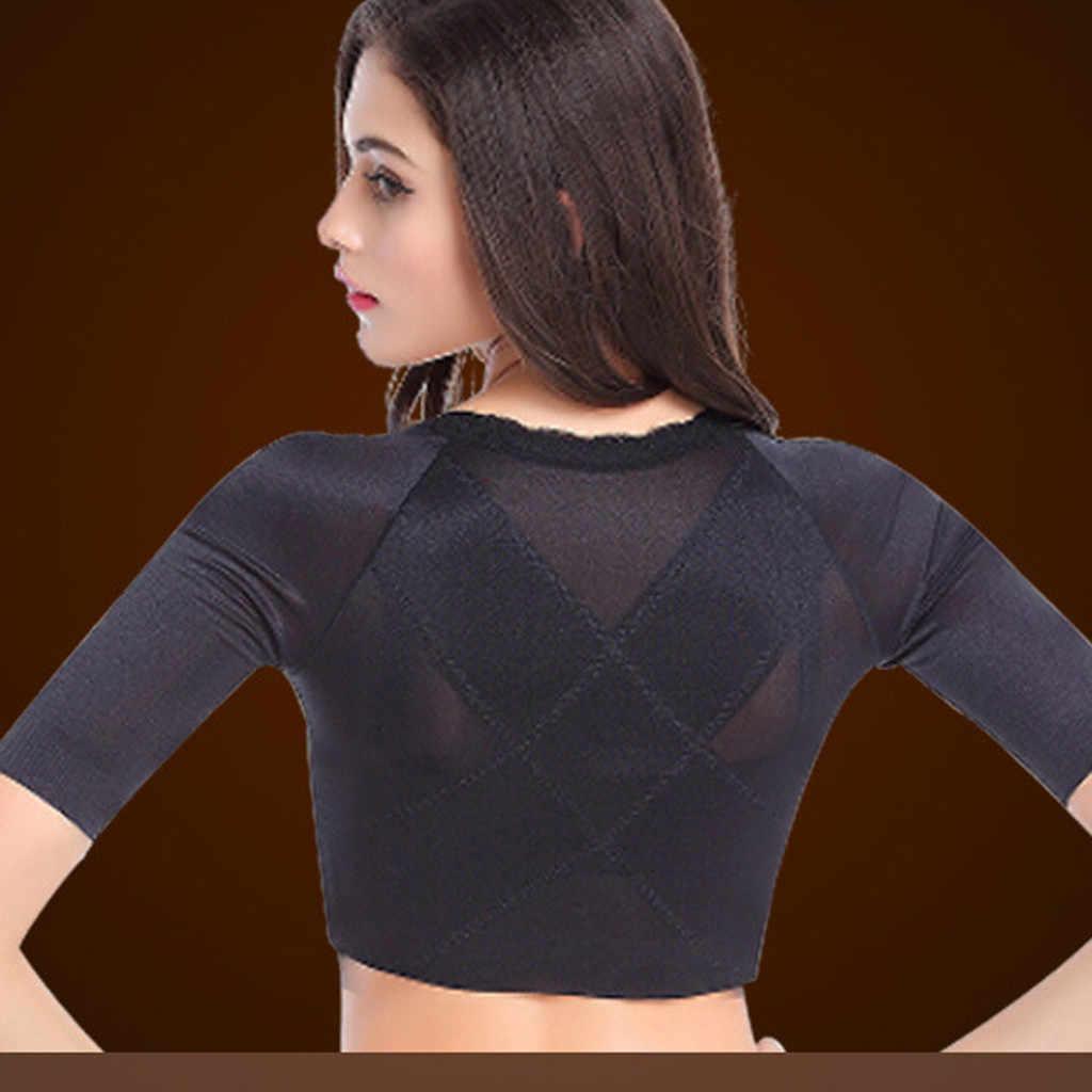 Belleza apoyo entrenador brazo de apoyo de las mujeres a los pechos de cuerpo Shaper peso Slim gimnasio corsé A5