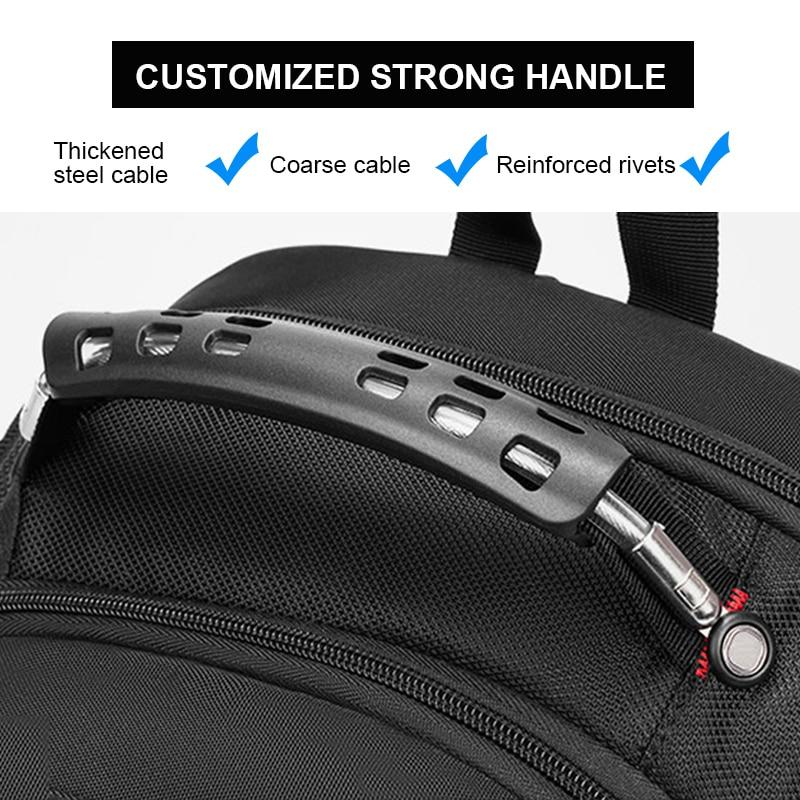 2021 Waterproof 17 Inch Laptop Backpack Men USB Charging Travel Backpack Women Oxford Rucksack Male Vintage School Bag mochila