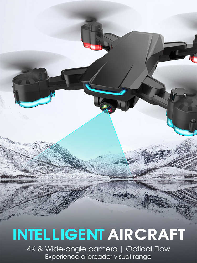 Дрон 4k камера K2 Дрон HD 1080P wifi FPV Дрон видео живое Квадрокоптер высота держать Дрон с Вертолет камеры Дрон квадрокоптер с камерой квадрокоптер с камерой профессиона квадракоптер квадрокоптер квадракоптер с камер