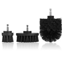 SHGO HOT-3 Pcs Power Scrubber Drill Brush Attachment Set - Cleaning Supplies,All Purpose Drill Scrub Brushes For Bathroom, Floor(China)