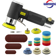 Air-Sander Grinding-Machine-Set Polishing Air-Tool Orbit Pneumatic Mini WENXING for Car