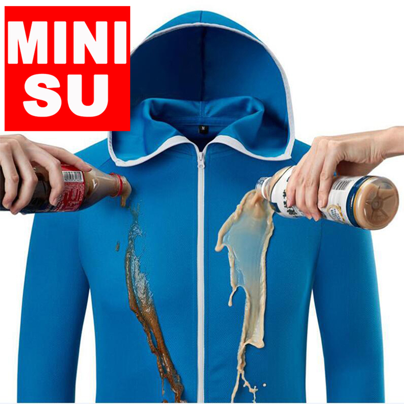Man Fishing nanotech Clothing Tech Hydrophobic Fishing Clothes Outdoor Camping Hiking Hooded Jackets Waterproof Quick Drying