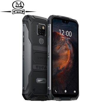 Перейти на Алиэкспресс и купить DOOGEE S68 Pro 6 ГБ + 128 ГБ NFC 6300 мАч IP68 водонепроницаемый мобильный телефон Восьмиядерный беспроводной заряд Android 9,0 4G Прочный смартфон