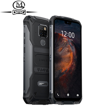 DOOGEE S68 Pro 6GB + 128GB NFC 6300mAh IP68 Waterproof mobile phone Octa Core Wireless Charge Android 9.0 4G Rugged Smartphone conquest s12 pro 4g rugged smartphone ip68 waterproof 5 99 inch ips android 9 0 6gb 128gb nfc outdoor walkie talkie mobile phone