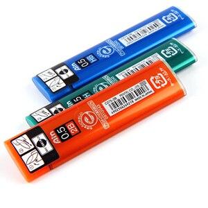 Image 2 - 7 أنابيب/مجموعة (40 قطعة/أنبوب) Pentel 0.5 مللي متر عبوات قلم رصاص ميكانيكية B,2B,3B,4B,H,2H, قلم رصاص HB يؤدي للمدرسة والمكتب القرطاسية