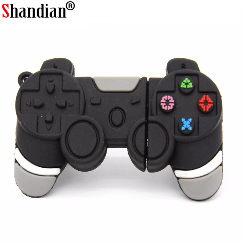 SHANDIAN Usb Flash Drive Cartoon Gamepad Model Usb 2.0 Memory Flash Stick Pen Drive 4GB 8GB 16GB 32GB 64GB U Disk Usb Flash Disk