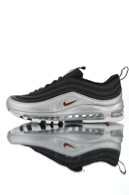 Nike Air Max 97 QS Black Metallic Golden Shoes Best Price AT5458 002
