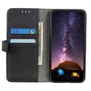 Image 3 - Litchi Flip PU cuero soporte ranuras para tarjetas cartera funda para Apple iPhone 11 Pro Max Xs Max Xr X 8 Plus 8 7 Plus 7