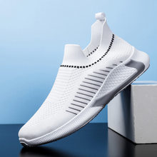 Hot Sale New Ultralight Comfortable Casual Shoes Outdoor Walking Men Shoes Sock Mouth Sneakers Soft Summer Big Size 45 B99