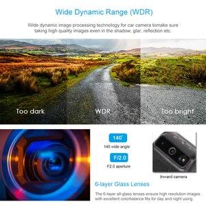 Image 5 - جيمي JC200 3G لتحديد المواقع المقتفي المزدوج عدسة داش كاميرا بث مباشر كاميرا فيديو للسيارة مع 1080P واي فاي SOS مراقبة عن بعد بواسطة APP & PC