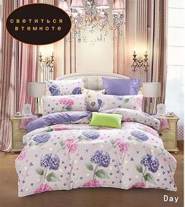 Image 4 - YAXINLAN постельное белье комплект хлопок подсветки двухцветный цветы рисунок простынь пододеяльник наволочка 4 7 части