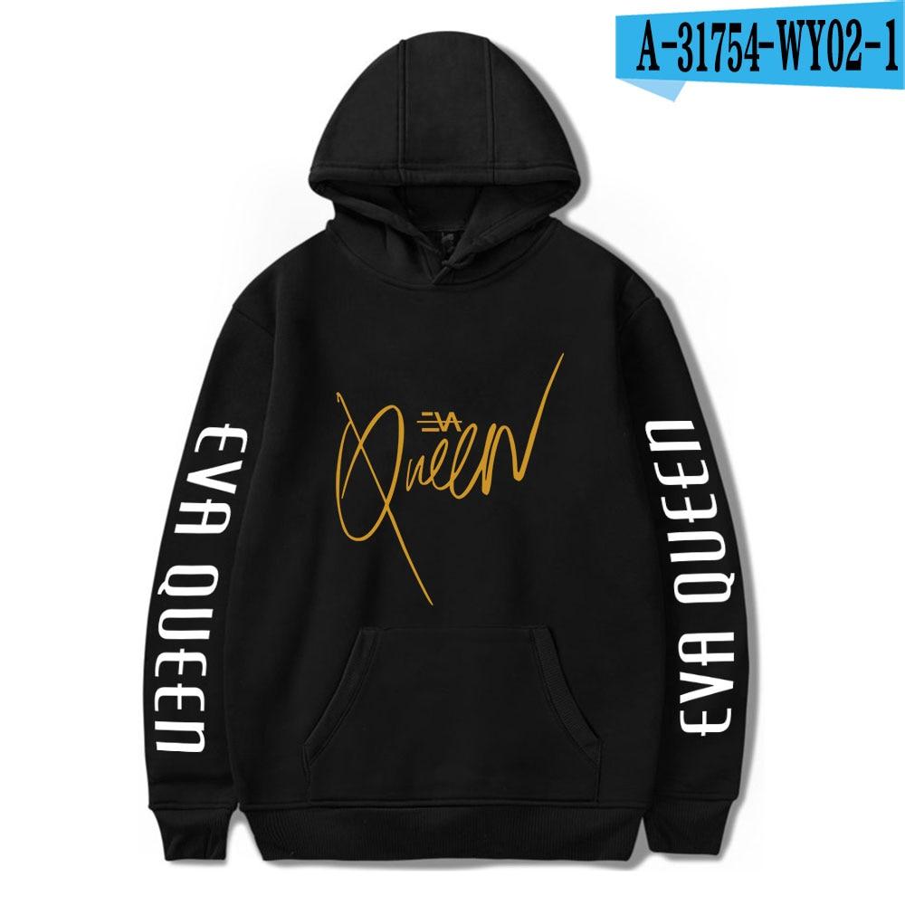 2020 Eva Queen Hoodies Men Casual Streetwear Sweatshirt Sudadera Hombre Eva Queen Hoodie For Men/Women 26