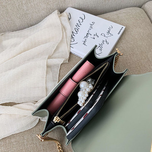 Image 5 - Borse a tracolla in pelle Pu a catena per donna 2021 borsa a tracolla piccola borsa a tracolla speciale Design femminile borse da viaggio