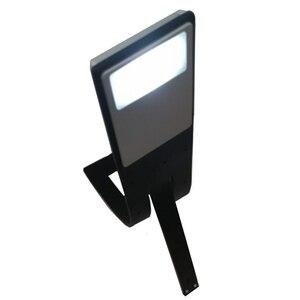 Image 2 - Usb led القراءة كتاب ضوء انفصال مشبك مرن USB شحن ضوء لأوقد قارئ الكتاب الإلكتروني WWO66