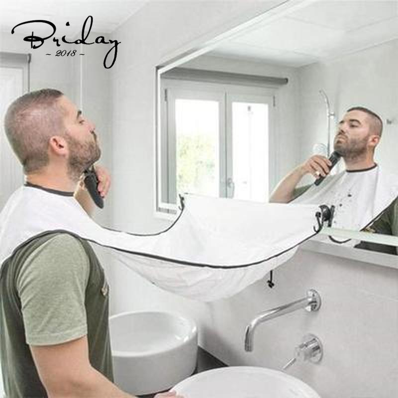 Men's Shaving Apron Beard Collector Easy Bathroom Cleaning Hair Care Tool Gift for Men Aprons  - AliExpress