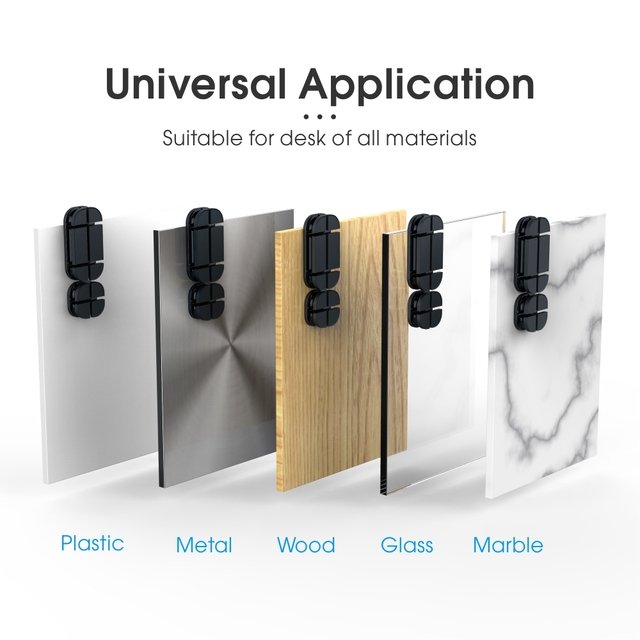 Vothoon Cable Organizer Silicone Cross Cable Winder Flexible Cable Management Clips Cable Holder For Mouse Headphone Earphone 5