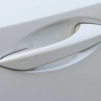 For Lexus NX300 300h ES200 CT RX200t Car Styling Door Handle Bowl Wrist Protective Film Cover Trim Exterior Accessories image