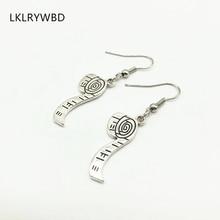 Best Selling Creative Tailor Shop Tape Measure Earrings Sewing Machine Earrings Scissors Earrings Unique Personality Earrings
