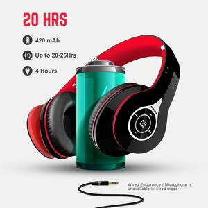 Image 4 - Mpow Best 059 Headphones Wireless Bluetooth 4.0 Headphone Built in Mic Soft Earmuffs Noise Cancelling Stereo Headset For Phones