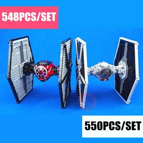 nova nave espacial primeiro fim imperial tie fighter caber star wars figuras blocos de construcao