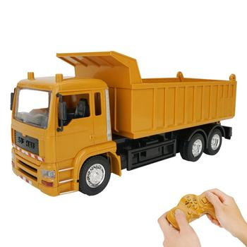 RCtown RC Cars Dump Truck Toys RC Engineering Truck Model Beach Toys Transporter for children boys Xmas birthday gifts #X1009
