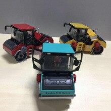 1/50 масштабная модель полученная литьем под давлением сплав дорожный роликовый автомобиль-грузовик модель плиткоукладочная машина строительный инженерный автомобиль коллекция детские игрушки