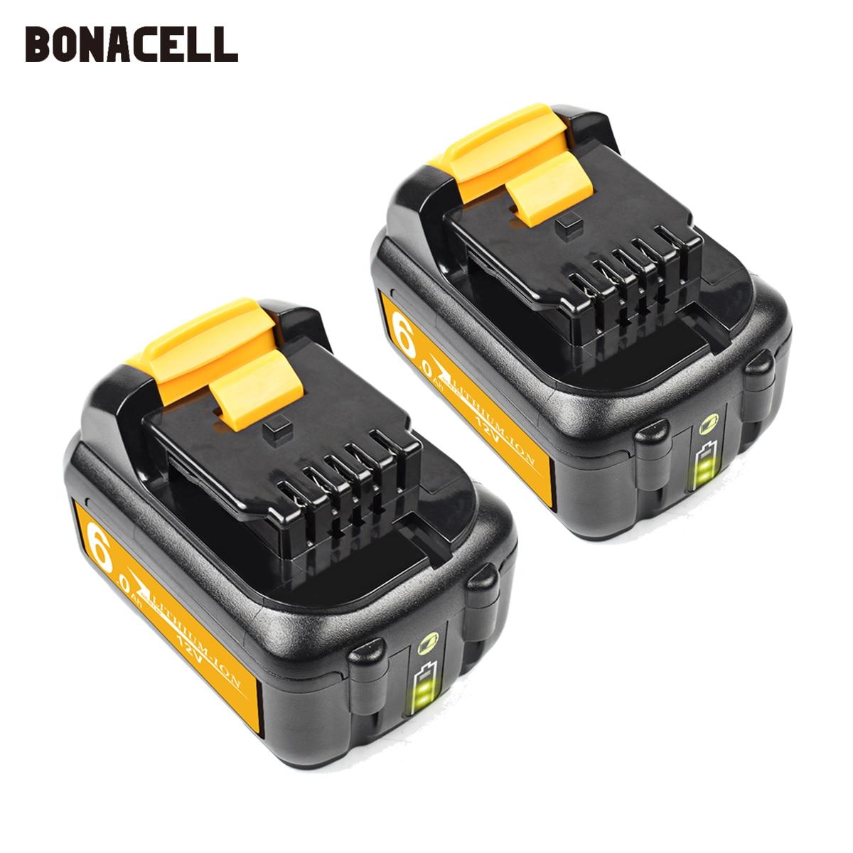 Сменный аккумулятор 6000 мАч DCB120 для Dewalt 12 в MAX Li-Ion DCB120 DCB121 DCB123 DCB125 DCD710 DCF813 DCF815, аккумулятор для электроинструмента