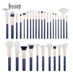 Jessup pinsel 30PCS Preußische Blau/Goldene Make-Up pinsel set Beauty-tools Foundation pinsel set Pulver Lidschatten Concealer