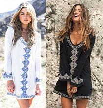 Туника большого размера женское летнее пляжное платье купальник
