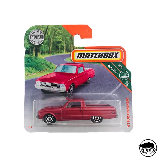 Matchbox '61 Ford Ranchero MBX Road Trip 20/35 2018 Short Card