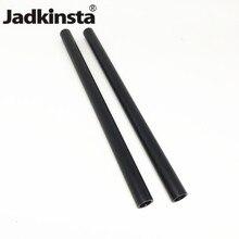Jadkinsta varillas de 15mm de diámetro, 2 uds., aleación de aluminio, 10cm, 25cm, 30cm, 40cm de largo, con orificio de tornillo M12 para DSLR, abrazadera para aparejo de varilla de 15mm