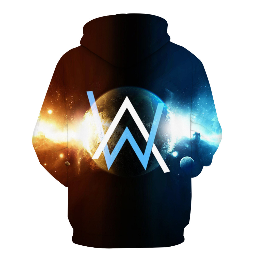 Alan Olav Walker Electronic Music DJ Related Products Hoodie Allen Walker Men And Women Fans Should Aid The Clothes