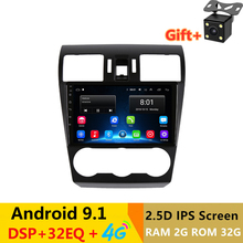 9 2 5D IPS Android 9 1 Car DVD Multimedia Player GPS for Subaru Forester XV