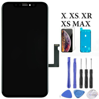 LCD Display Panel For iPhone X XS Display Digitizer Assembly Phone Replacement Spare Parts For iPhone XsMax XR LCD Touch Screen