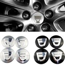 Для Dacia Logan 2 MCV Sandero Stepway Duster Lodgy Dokker Rim эмблема 65 мм Авто центр ступицы колеса стикер крышка украшения
