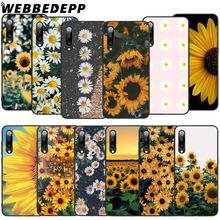 WEBBEDEPP Sunflower Daisy Soft TPU Case for Xiaomi Mi 6 8 A2 Lite 6 9 A1 Mix 2s Max 3 F1 9T A3 Pro CC9E Cover webbedepp yin yang koi fish soft tpu case for xiaomi mi 6 8 a2 lite 6 9 a1 mix 2s max 3 f1 9t a3 pro cc9e cover