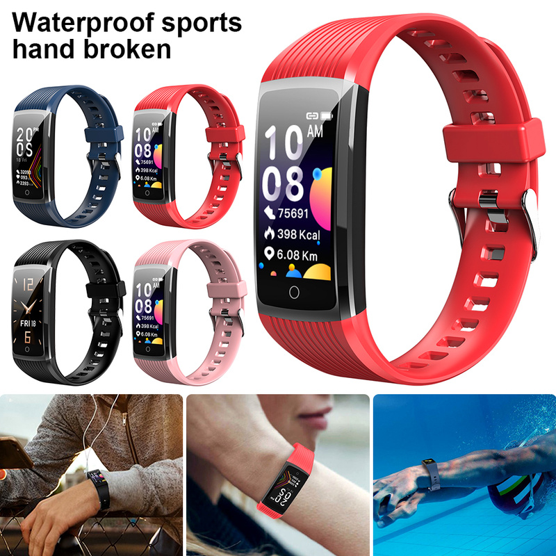 Smart Bracelet Band Activity Tracker Pedometer Cardio Bracelet Heart Rate Blood Pressure Call Remind Waterproof Health Wristband image