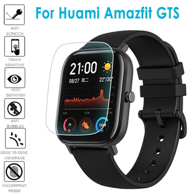 Ultra-thin High Touch Sensitivity Anti-fingerprint Soft Full Cover Screen Hydrogel Film For Xiaomi Huami Amazfit GTS Smart Watch