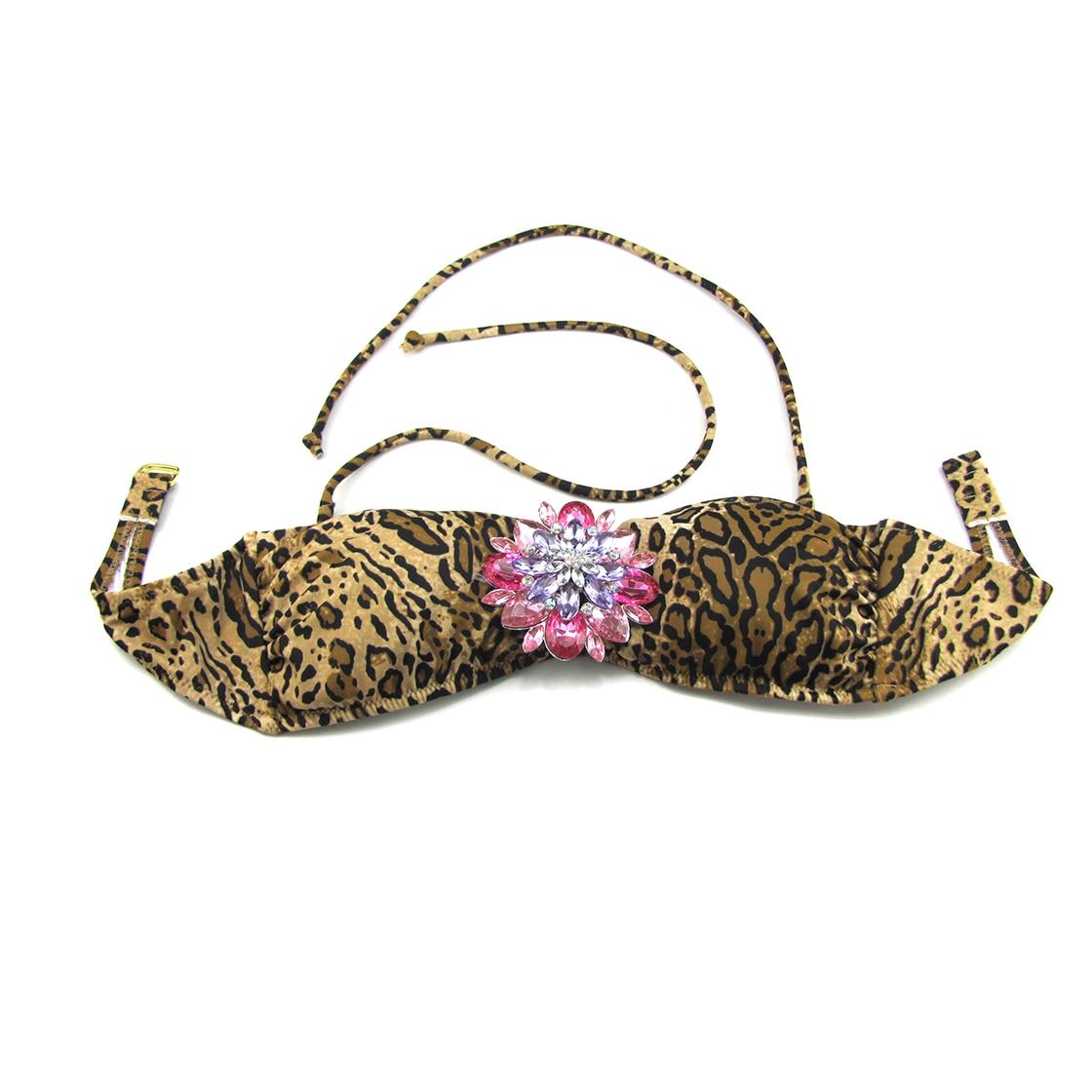 Mixer Bikini TOPS for Women Swimwear Top Designer For Secret Diamond Leopard Bathing suits Sexy swimming biquini UP 5
