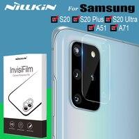 Nillkin Camera Glas Protector Voor Samsung Galaxy S20 Plus S20 Ultra A71 A51 Note 10 Plus Lens Protector Veiligheid Gehard glas-in Telefoonscherm Bescherming van Mobiele telefoons & telecommunicatie op